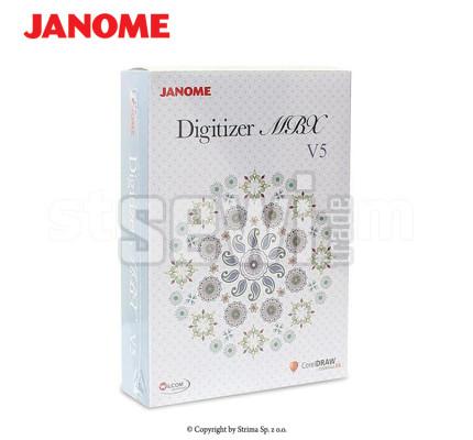 Vyšívací program Janome Digitizer MBX v5.0