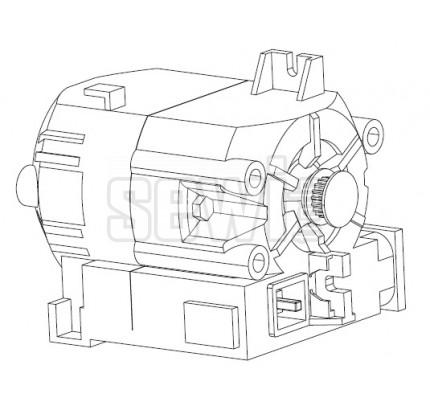 Motorek pre Pfaff 413115801