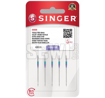 Ihly Singer 2026 - 100/16 - 5 ks - Denim