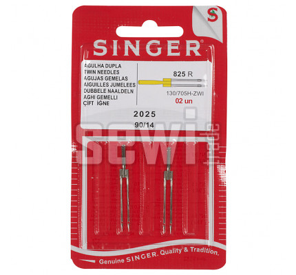 Ihly Singer 2025 / TWIN 80 (11) - rozpich 3mm, sada 2ks